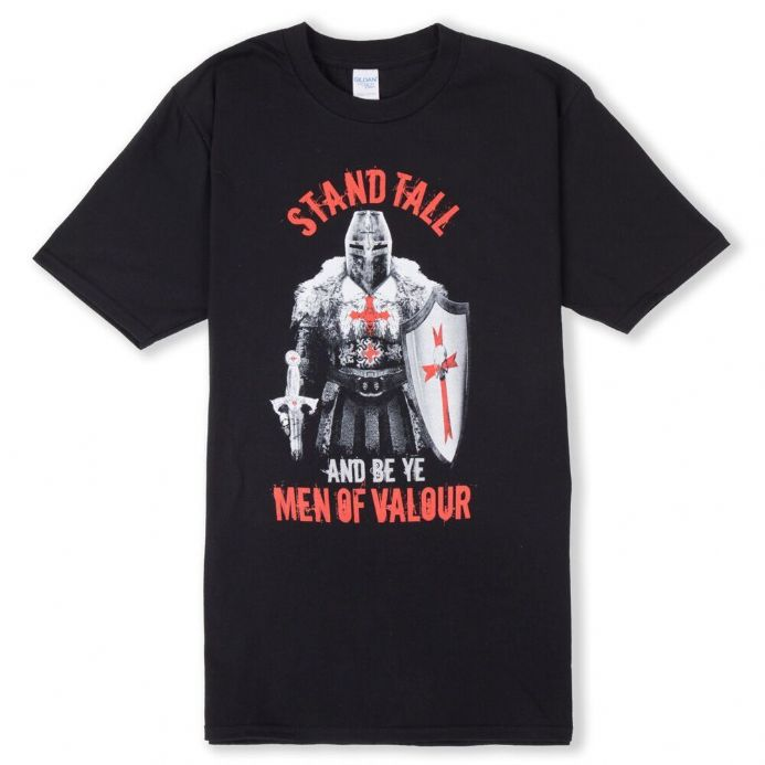 England T-shirt - Warrior Be Ye Men of Valour